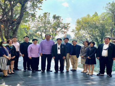 การประชุมคณะกรรมการบริหารและบรรณาธิการสำนักพิมพ์มหาวิทยาลัยเชียงใหม่ ประจำปี 2564